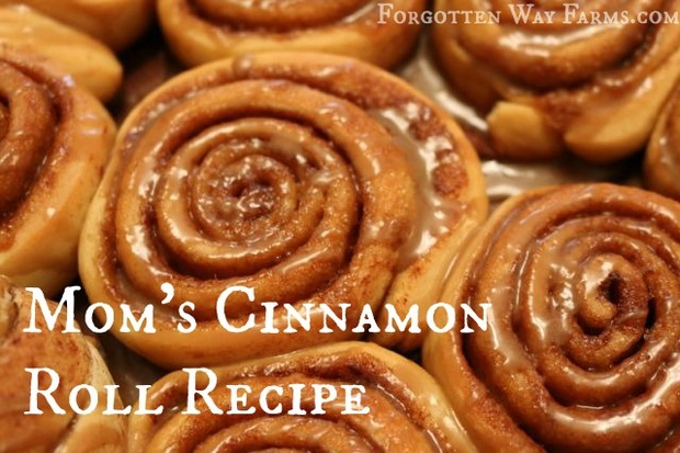 My Mom's Cinnamon Rolls