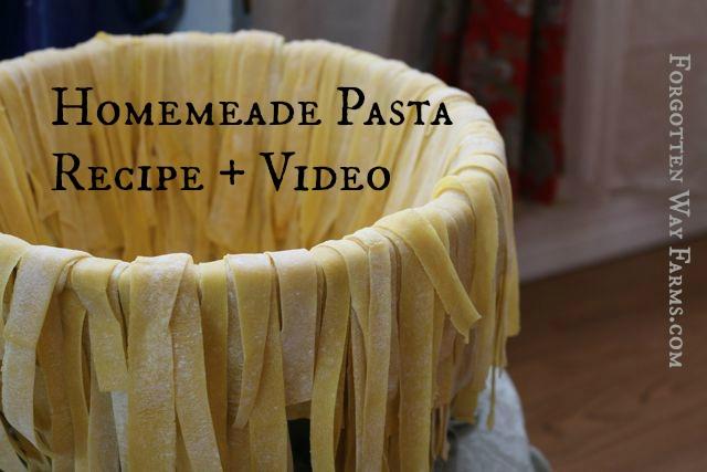 Farm Fresh Pasta Youtube Video