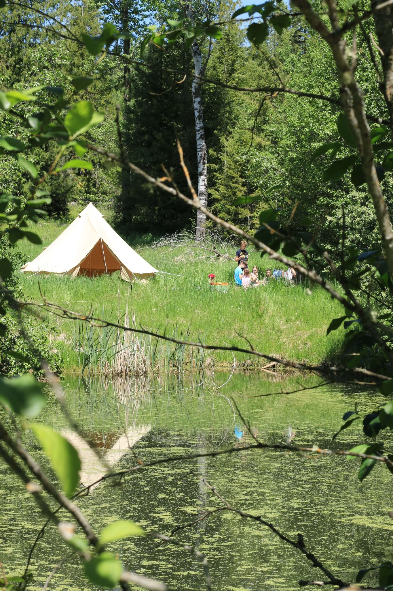 Why We Bought a Canvas Bell Tent from Europe-Forgotten Way Farms-Love this post so romantic and inspiring!