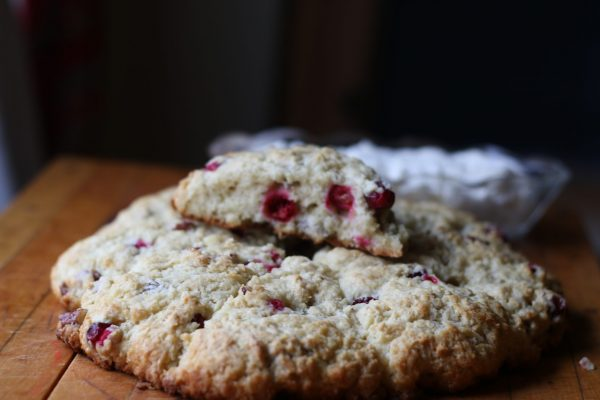 Cranberry Pecan Scones-Throwback