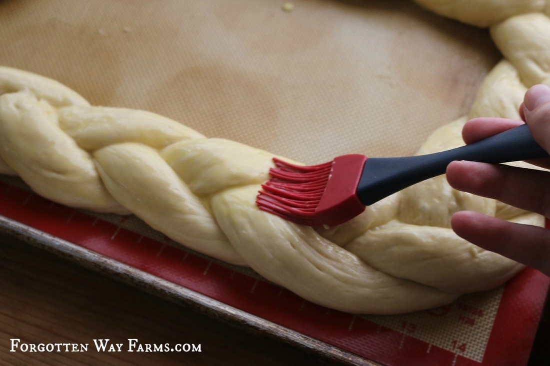 Challah Bread Tutorial at Forgotten Way Farms