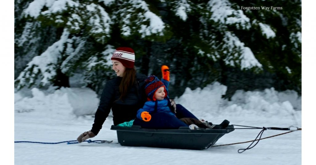 I love sledding, it brings back such good memories!