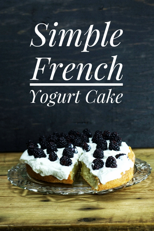 Simple French Yogurt Cake that looks amazing!!!!