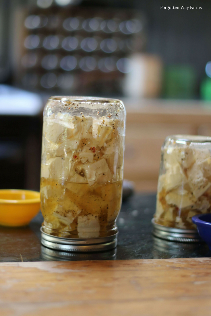 Homemade Feta Cheese, Recipe and Tutorial at Forgotten Way Farms! LOVE this blog <3