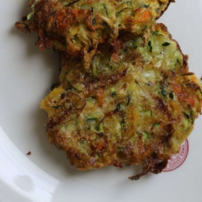 Zucchini and Carrot Fritters Recipe – Such an Easy Side Dish + How to Video