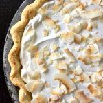 Easy Gluten-Free Desserts Gluten-Free Recipes Gluten-Free Pie Coconut Custard Pie Easter Desserts Old-Fashioned Coconut Cream Pie Coconut Cream Pie Gluten-Free Pie Crust Summer Pies Easter Desserts Pinterest