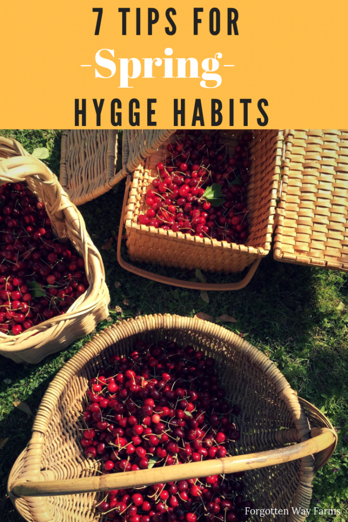 How to Hygge Guide | Spring Guide 7 Tips for Incorporating Hygge in the Spring.  #springhygge #hygge