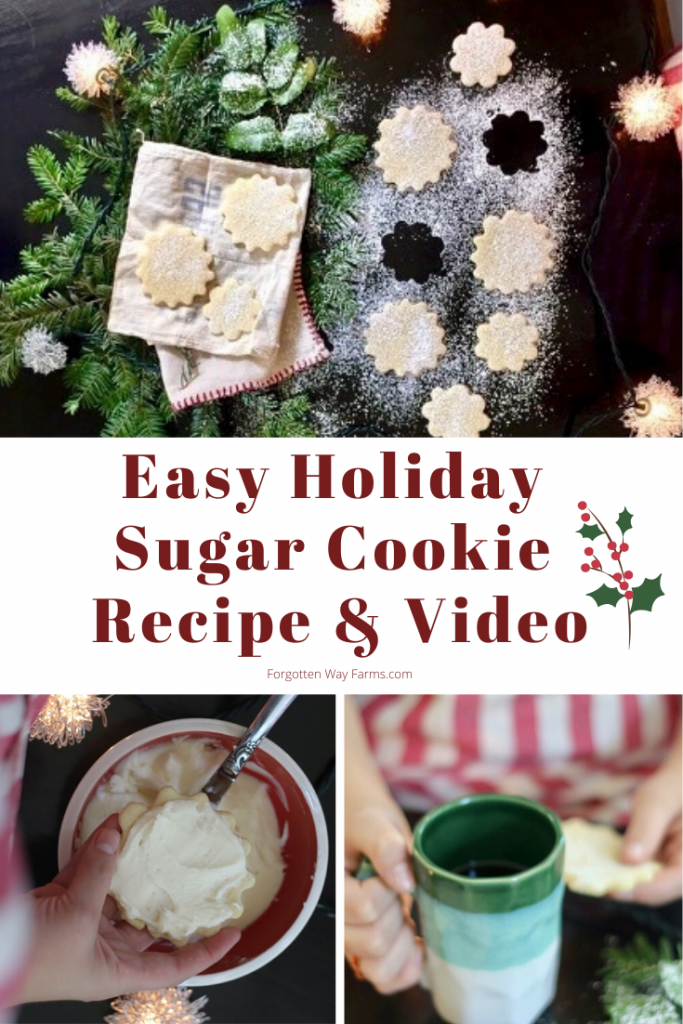 Easy Sugar Cookie Recipe and Holiday Cookie Recipe Swap
