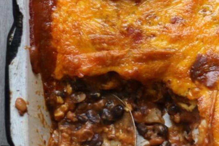 An Enchilada Casserole